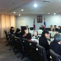การประชุมคณะอนุกรรมการสถิติสาขาทรัพยากรธรรมชาติและสิ่งแวดล้อม ครั้งที่ 2/2555