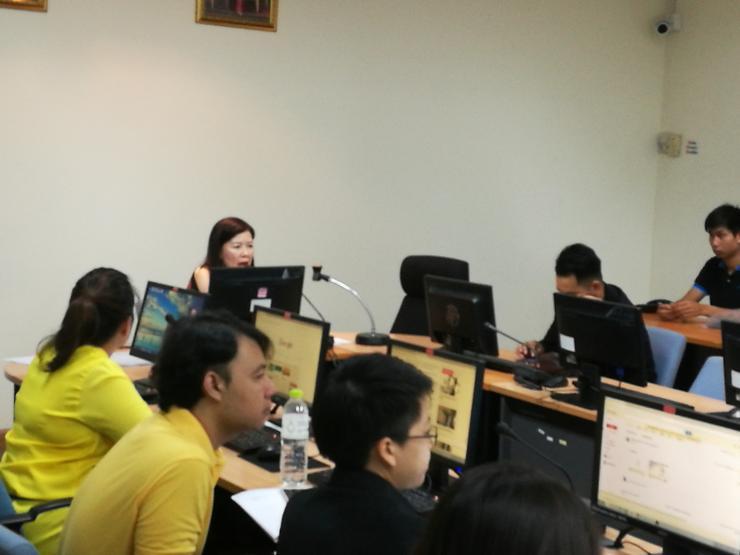 """ศทส. จัดฝึกอบรมเชิงปฏิบัติการ หลักสูตร """"การพัฒนาเว็บไซต์ด้วยเครื่องมือบริหารจัดการ สำหรับผู้ใช้งาน"""" รุ่นที่ 2 ให้กับหน่วยงานใน สป.ทส."""