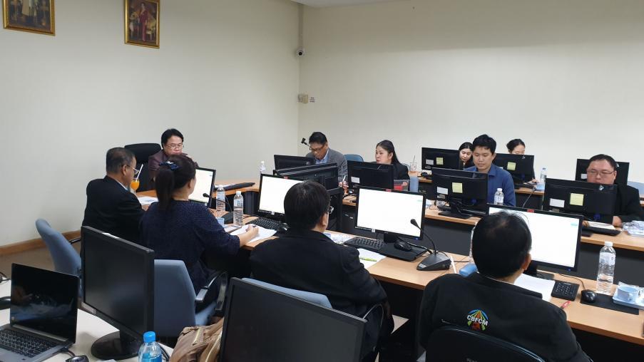 ประชุมหารือแผนงานโครงการด้านสังคม