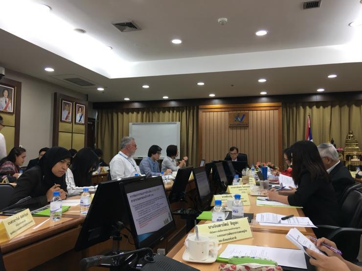 การประชุมหารือเพื่อกำหนดแนวทางการจัดทำระบบบัญชีเศษฐกิจสิ่งแวดล้อม (SEEA) ครั้งที่ 1/2561