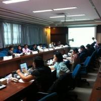 การประชุมคณะทำงานสถิติด้านทรัพยากรธรรมชาติและสิ่งแวดล้อม ครั้งที่ 3/2555