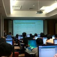 การอบรมระบบนำเสนอข้อมูลสารสนเทศประเทศไทย จัดโดยสำนักงานสถิติแห่งชาติ