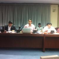 การประชุมคณะทำงานพัฒนาฐานข้อมูลด้านทรัพยากรธรรมชาติและสิ่งแวดล้อม ครั้งที่ ๑/๒๕๕๖