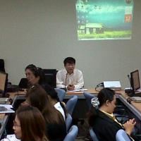 """การฝึกอบรมเชิงปฏิบัติการ หลักสูตร """"การพัฒนาเว็บไซต์ด้วยเครื่องมือบริหารจัดการเว็บ (EasyWebTime)"""" รุ่นที่ 1"""