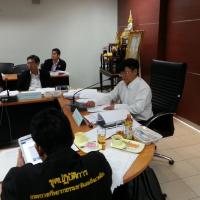 การประชุมคณะอนุกรรมการกลั่นกรองโครงการด้านเทคโนโลยีสารสนเทศและการสื่อสาร ทส. ครั้งที่ 1/2557