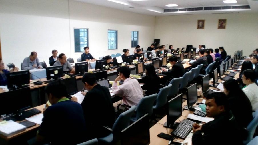 การประชุม คณะอนุกรรมการด้านเทคโนโลยีสารสนเทศและการสื่อสารของกระทรวงทรัพยากรธรรมชาติและสิ่งแวดล้อม ครั้งที่ 1/2561