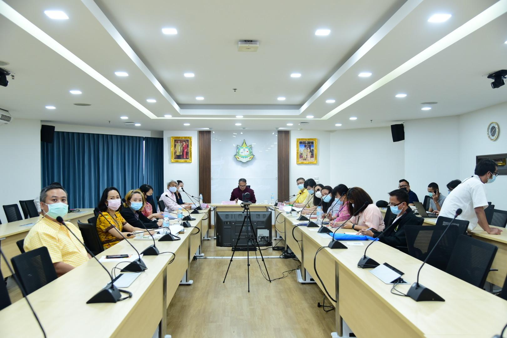 ศทส.จัดประชุมคณะกรรมการบริหารเทคโนโลยีสารสนเทศระดับสูง